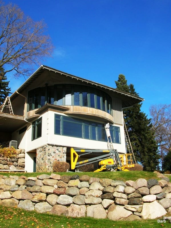 Professional exterior residential painters near Lake Minnetonka