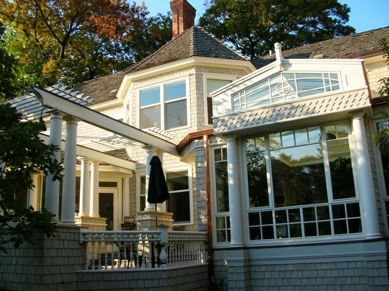 Exterior painting services for residential properties west of the Twin Cities