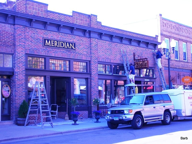 Exterior commercial painting company in the Twin Cities metro area