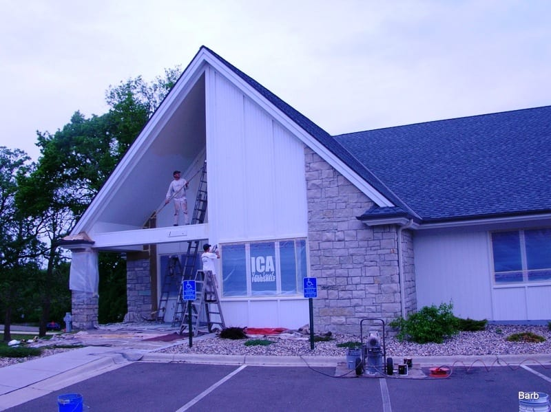 Exterior painting services for commercial properties near Lake Minnetonka