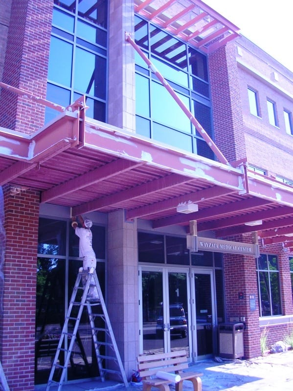 Exterior commercial painters in Wayzata, MN